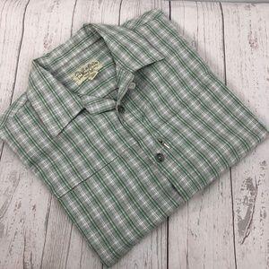Cabela's Outdoor Short Sleeve Button Front Shirt
